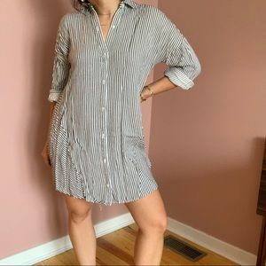 Madewell shirt dress